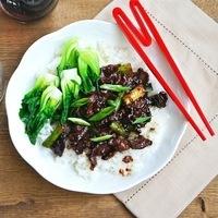 Stir-Fry Beef With Scallions~Mongolian Beef