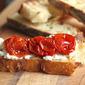 No-Knead Bread and Slow-Roasted Tomato Bruschetta