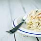 Smoked salmon velouté pasta