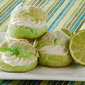 Lime Cream Puffs