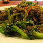 "Sesame Beef and Broccoli ""Lo Mein"""