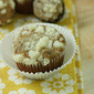 Browned Butter Banana Muffins with Streusel Topping