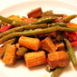 Simple, Healthy Asian Stir Fry with Veggies and Tofu