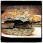 Grilled Portobello Sandwich With Creamy Pesto Sauce
