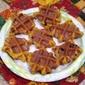 Pumpkin Waffle Iron Cookies