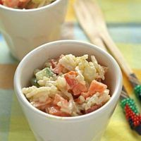 Confetti rice salad - celebrate!