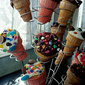 Frosted Cupcake Cones