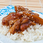 Honey Bourbon Crock Pot Chicken