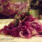 Warm Red Cabbage Salad!!!