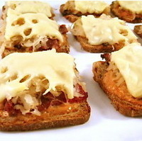 Skinny Mini Reuben Appetizers, Low Calorie and Delectable