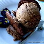 Chocolate Espresso Kahlua ice-cream