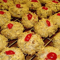 Cherry Winks ~ Classic Cookies