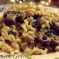 Macaroni with Mushrooms and Chickpeas!!!