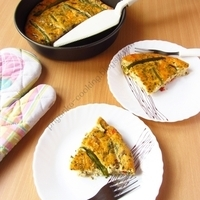 Paneer & Pepper Quiche