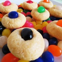 Jelly Bean Sugar Cookies