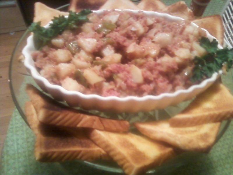 Savory Country Style Corned Beef Hash