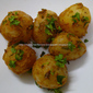 Baby Potatoes with Peanuts(Microwave Recipe)