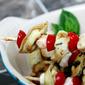 Tortellini Caprese Kabobs (with Basil Balsamic Vinaigrette)