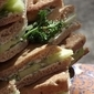 Cucumber and Mint Butter Sandwiches