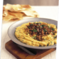 Hummus with cinnamon lamb