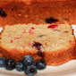 Tropical Banana Coconut Blueberry Bread Chad's Guest Post