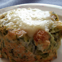 Twice Baked Gruyere and Potato Souffle