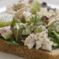 apple and rosemary chicken salad