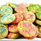 Skinny Springtime Sugar Cookies, Terrific for Easter