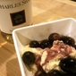 Overwhelmed and underprepared -or- Roasted grapes in wine sauce