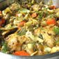 Chicken Tagine w/ Spring Vegetables