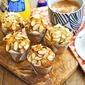 Chocolate Almond Raspberry Muffins