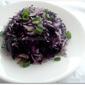 Purple Cabbage Lemon Rice
