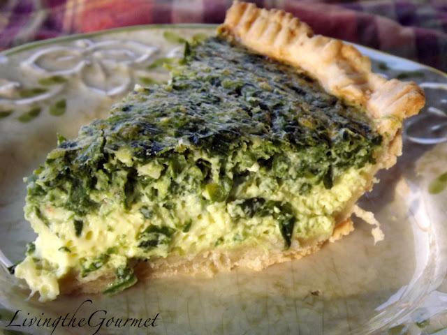 Spinach & Feta Quiche!!!