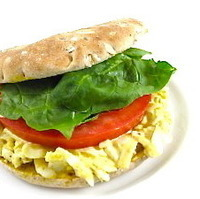 Simple, Tasty and Skinny, Egg Salad Sandwich