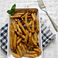 WHOLE WHEAT PENNE PASTA WITH MUSHROOM | PASTA RECIPES