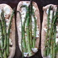 Spring Asparagus and Ricotta Naan