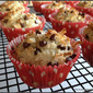 Coconut-Almond Muffins with Chocolate Chips