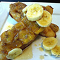 Bananas Foster French Toast Bake