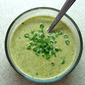Gluten Free Vegan Organic Cream of Asparagus Soup