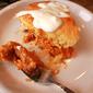 Buffalo Chicken Casserole Pie