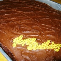 Chocolate Fudge Cake (or Cupcakes)