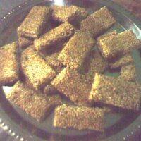 Homemade Sesame Seed Sweet Snacks