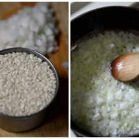 Risotto Bianco (...e rosso o verde) inspired by Big Night {food 'n flix}