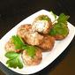 Greek Keftedakia (Meatballs) With Feta Cheese Stuffing And Ouzo