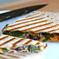 Kale and sweet potato quesadillas: a recipe and some notes