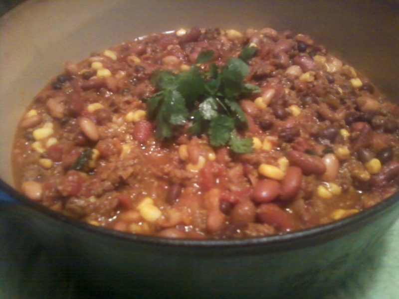 Super Smoky Southwestern Chili Beans