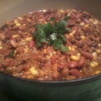 Super Smoky Southwestern Chili Beans