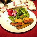 Banana Glazed Butterflied Pork Tenderloin