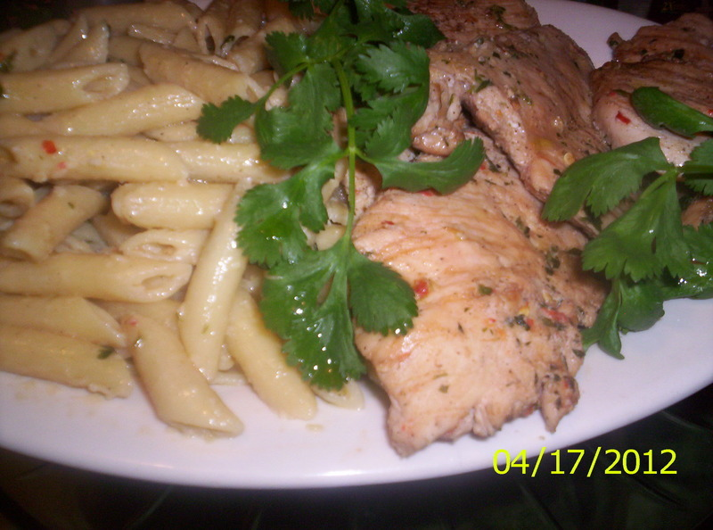 Amazing Thai Style Penne Rigate