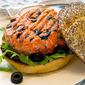 A Lindsay Olive #Campblogaway California Salmon Burger